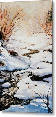 Winter Break Metal Print by Hanne Lore Koehler