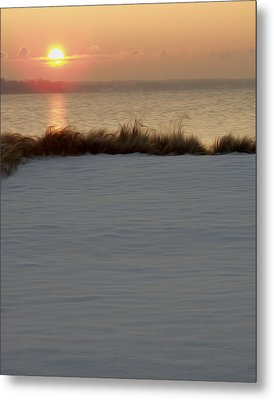 Metal Print featuring the digital art Winter Coast by Kelvin Booker