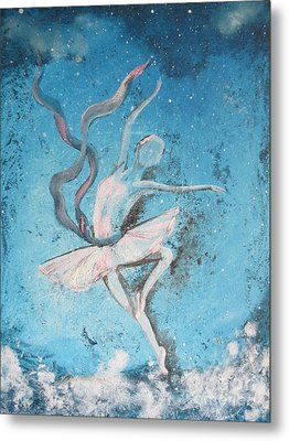 Winter Dancer1 Metal Print by Laurianna Taylor
