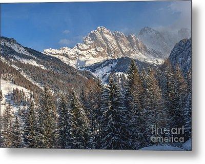 Winter Dolomites Metal Print by Martin Capek