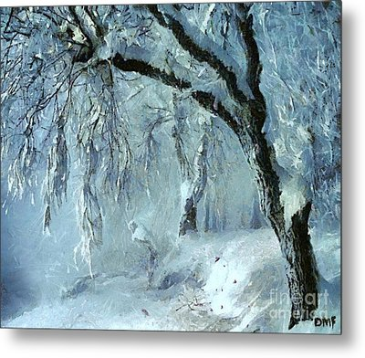 Winter Dreams Metal Print by Dragica  Micki Fortuna