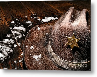 Winter Duty Metal Print