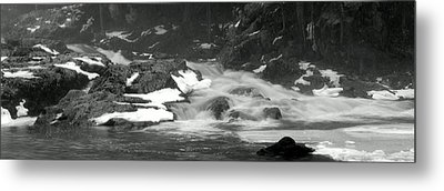 Winter Falls Metal Print