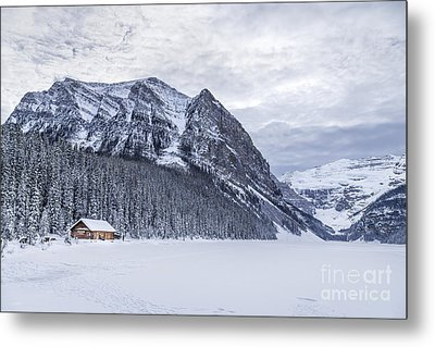 Winter Getaway Metal Print by Evelina Kremsdorf
