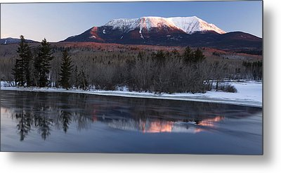 Metal Print featuring the photograph Winter Glow by Patrick Downey