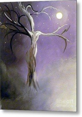 Winter Goddess II Metal Print by Alys Caviness-Gober