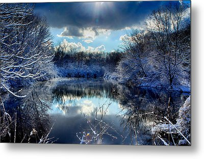 Winter In April 2014 Metal Print by Jerome Lynch