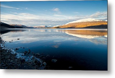 Metal Print featuring the photograph Winter In Glencoe by Stephen Taylor