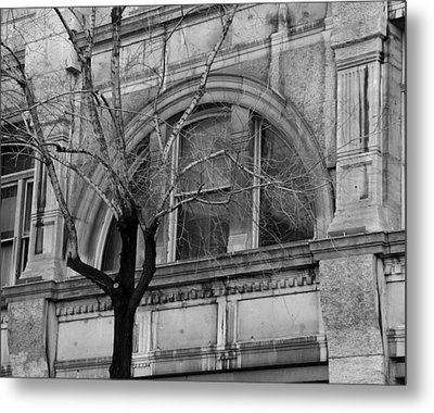 Winter In The City Metal Print by David and Mandy