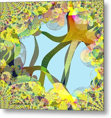 Winter Is Over - 515 Metal Print by Irmgard Schoendorf Welch