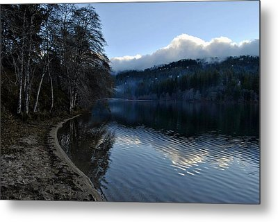 Winter Lake Metal Print by Randal Bruck