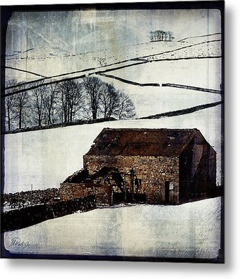Winter Landscape 1 Metal Print by Mark Preston