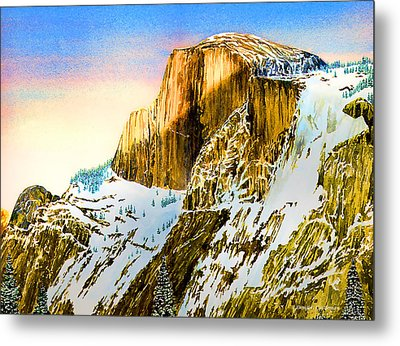 Winter Last Light Metal Print by Douglas Castleman