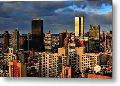 Winter Light In New York Metal Print