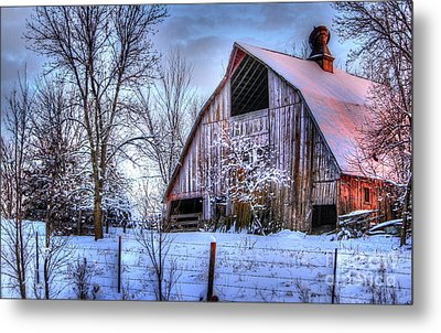 Winter Light Metal Print by Thomas Danilovich