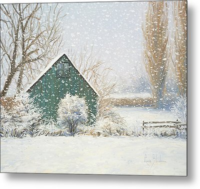 Winter Magic Metal Print by Lucie Bilodeau