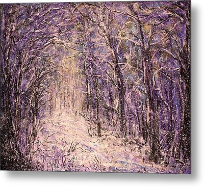 Winter Magic Metal Print by Natalie Holland