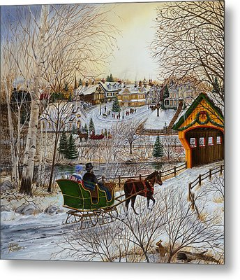 Winter Memories 1 Of 2 Metal Print by Doug Kreuger