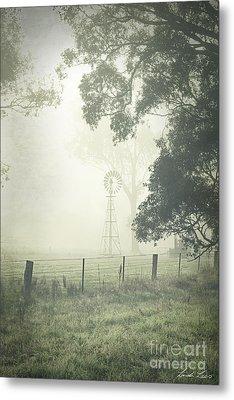 Winter Morning Londrigan 9 Metal Print by Linda Lees