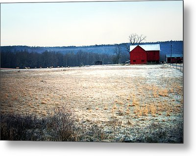 Winter Morning  Metal Print by Meaghan Troup