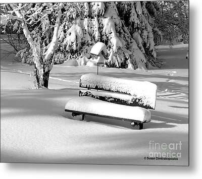 Winter Morning Metal Print by Susan  Dimitrakopoulos