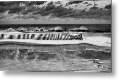 Winter On Long Island Metal Print by JC Findley