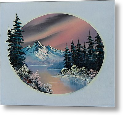Winter Tranquility Metal Print