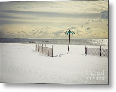 Winter Paradise Metal Print