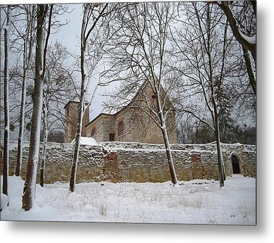 Metal Print featuring the photograph Old Monastery by Gabriella Weninger - David