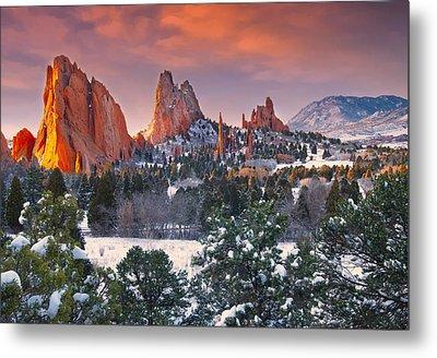 Winter Serenity Metal Print by Tim Reaves