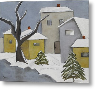 Winter Silence Metal Print by Trish Toro