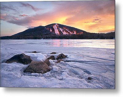 Winter Sky Metal Print by Darylann Leonard Photography