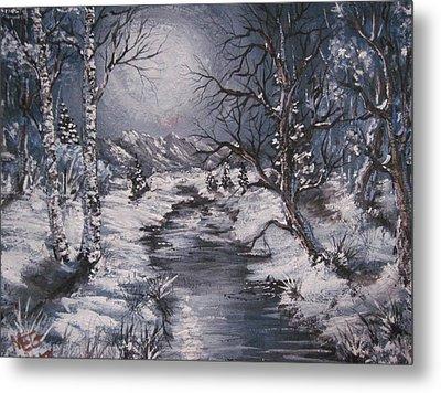 Winter Solstice Metal Print by Megan Walsh