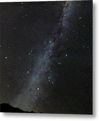 Winter Stars Without Light Pollution Metal Print