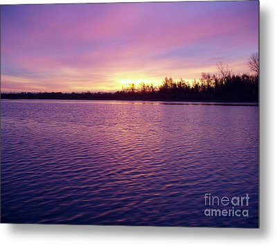 Winter Sunrise Metal Print by John Telfer