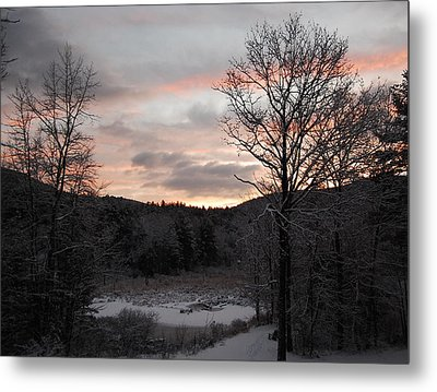 Metal Print featuring the photograph Winter Sunrise by Mim White
