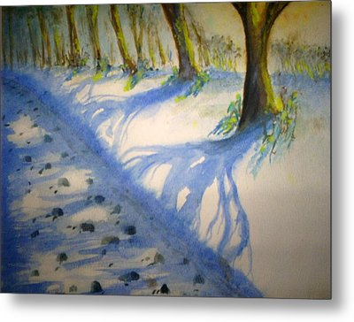 Winter Sunshine Metal Print