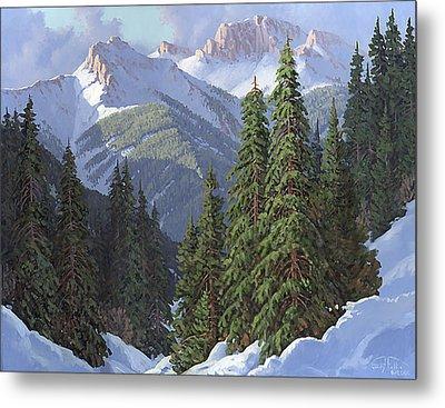 Winter Sunshine Metal Print by Randy Follis