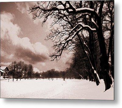 Winter Tale Metal Print by Nina Ficur Feenan