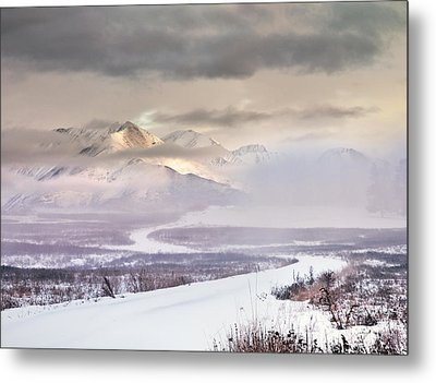 Winter Travel Metal Print