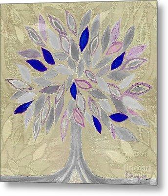 Winter Tree Metal Print by Barbara Moignard