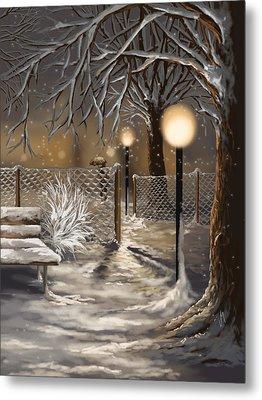 Winter Trilogy 3 Metal Print