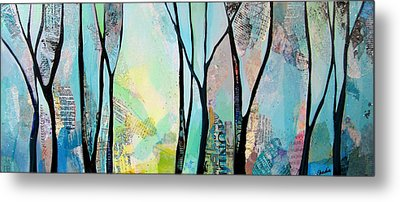 Winter Wanderings I Metal Print by Shadia Derbyshire