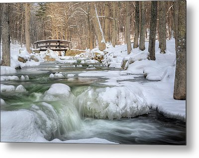 Winter Water Metal Print by Bill Wakeley