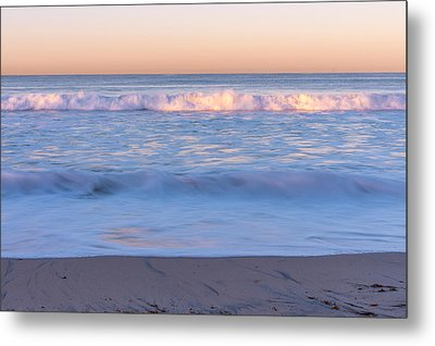 Winter Waves 7 Metal Print by Priya Ghose