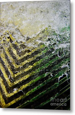 Winter Wedge Metal Print
