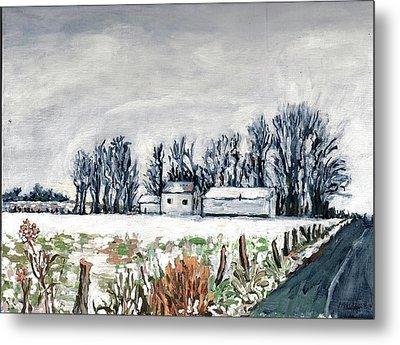 Winter Whisper Metal Print by Patty Fleckenstein