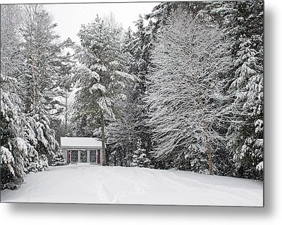 Metal Print featuring the photograph Winter Wonderland by Barbara West