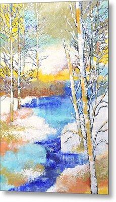 Winter Wonderland Metal Print by Betty M M   Wong