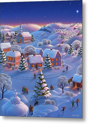 Winter Wonderland  Metal Print by Robin Moline